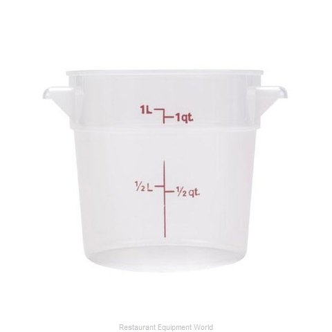 Food Machinery of America 80229 Food Storage Container, Round