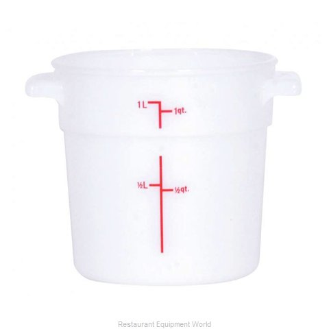 Food Machinery of America 80230 Food Storage Container, Round
