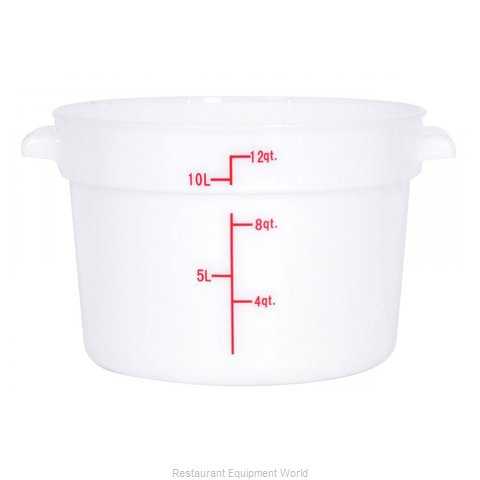 Food Machinery of America 80234 Food Storage Container, Round