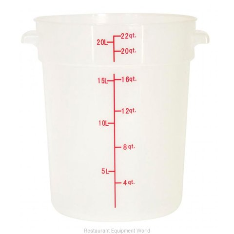 Food Machinery of America 80236 Food Storage Container, Round
