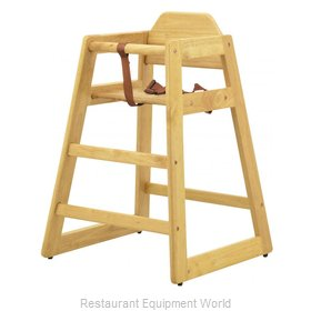 Food Machinery of America 80610 High Chair, Wood