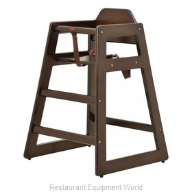 Food Machinery of America 80611 High Chair, Wood