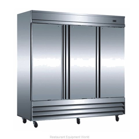 Food Machinery of America CFD-3RR Refrigerator, Reach-In
