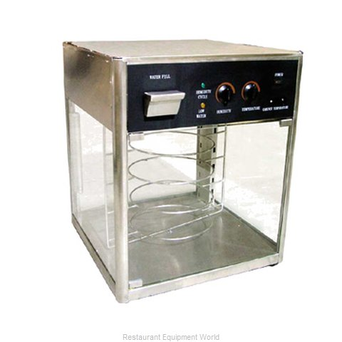 Food Machinery of America DH18 Display Case Hot Food Countertop