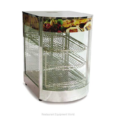 Food Machinery of America DH1P Display Case Hot Food Countertop