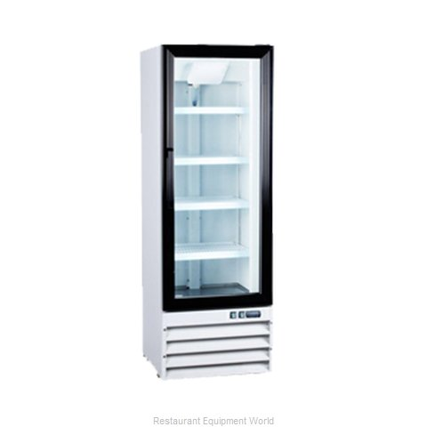 Food Machinery of America G258BMF Reach-in Display Refrigerator 1 section
