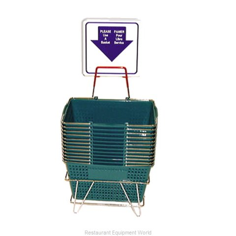 Food Machinery of America LPHB12Y Shopping Basket