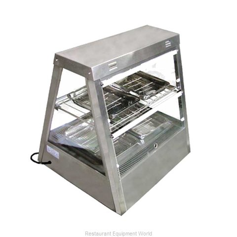 Food Machinery of America MTWT-2X2 Display Case, Hot Food, Countertop