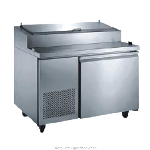 Food Machinery of America PICL-1 Pizza Prep Table Refrigerated