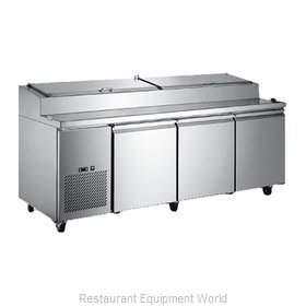 Food Machinery of America PICL-3 Pizza Prep Table Refrigerated
