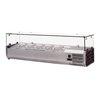 Food Machinery of America RS-CN-0006-P Refrigerated Countertop Pan Rail