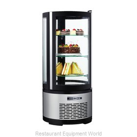 Food Machinery of America RS-CN-0100-R Display Case, Vertical Glass Sides