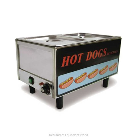 Food Machinery of America TS9999 Hot Dog Steamer