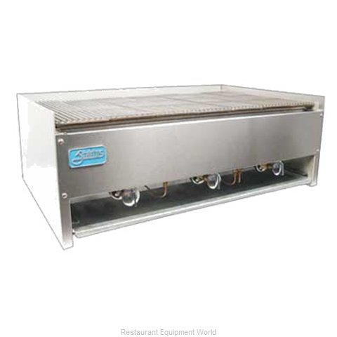 Food Machinery of America TSEB-15C Charbroiler Gas Counter Model