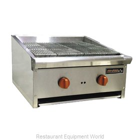 Food Machinery of America TSEB-24C Charbroiler Gas Counter Model