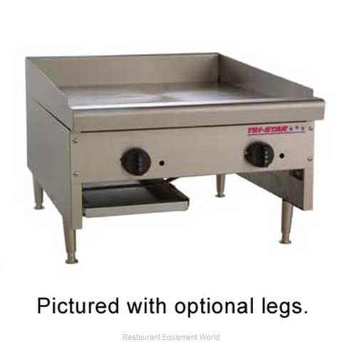 Food Machinery of America TSMG-24C Griddle Counter Unit Gas