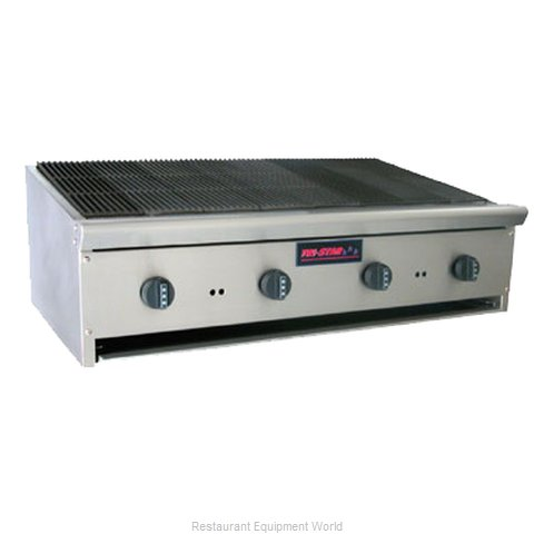 Food Machinery of America TSRB-24 Charbroiler Gas Counter Model