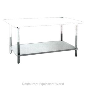 Food Machinery of America UDS-2484SS Undershelf for Work Prep Table