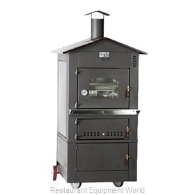 Food Machinery of America WO-IT-0620-L Oven, Wood / Coal / Gas Fired