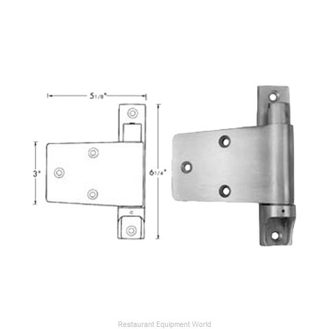 FMP 123-1181 Hinge (Magnified)