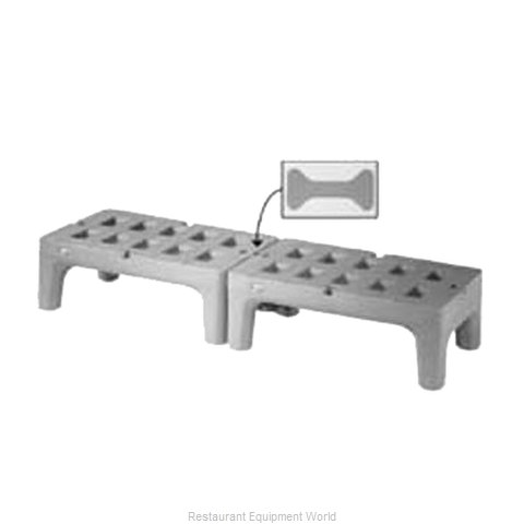 FMP 126-6015 Dunnage Rack Louvered Slotted