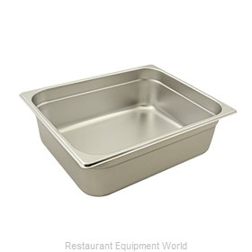Franklin Machine Products 133-1119 Steam Table Pan, Stainless Steel