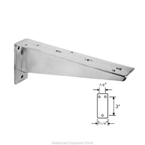 Franklin Machine Products 135-1127 Bracket (Magnified)