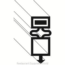 Franklin Machine Products 148-1124 Refrigerator, Door Gasket