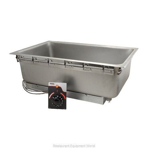 FMP 160-1086 Hot Food Well Unit Electric Drop-In Top Mou
