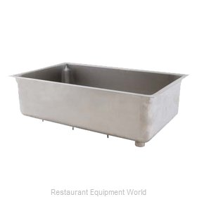 Franklin Machine Products 160-1263 Steam Table Pan, Stainless Steel