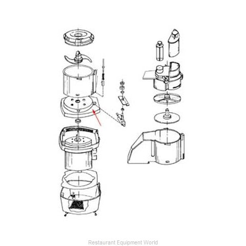 FMP 206-1043 Food Processor Accessories (Magnified)