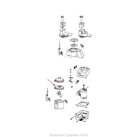 FMP 206-1072 Food Processor Accessories (Magnified)