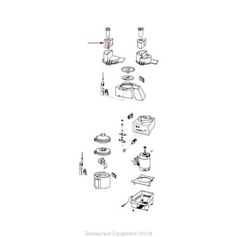 FMP 206-1155 Food Processor Accessories
