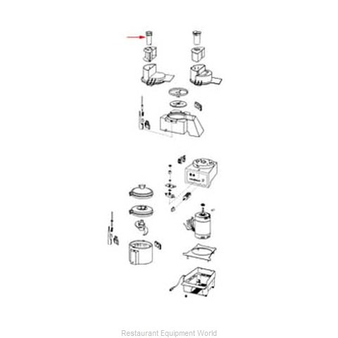 FMP 206-1156 Food Processor Accessories