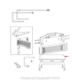 Franklin Machine Products 215-1018 Slicer, Tomato Parts & Accessories