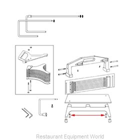 Franklin Machine Products 215-1117 Slicer, Tomato Parts & Accessories