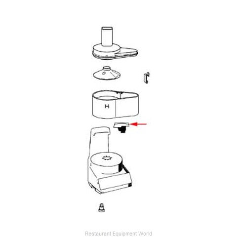 FMP 222-1140 Food Processor Accessories
