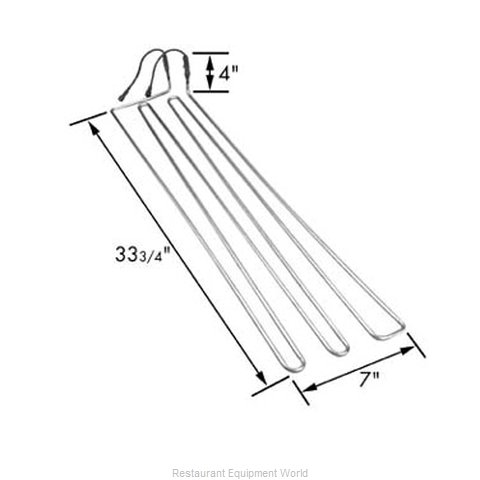 FMP 235-1046 Heating Element (Magnified)