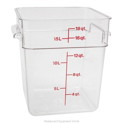 FMP 247-1138 Food Storage Container Square
