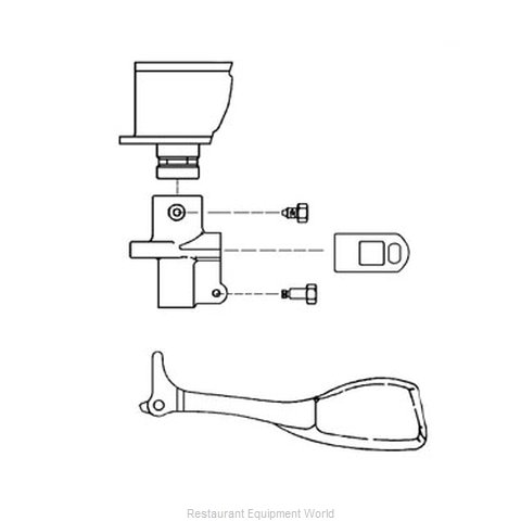 FMP 256-1029 Parts for Milk Dispenser