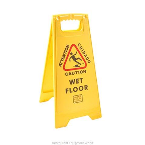 Franklin Machine Products 262-1000 Sign, Wet Floor
