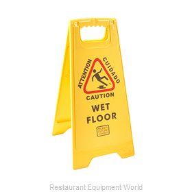 Franklin Machine Products 262-1000 Sign, Wet Floor