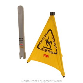 Franklin Machine Products 262-1147 Sign, Wet Floor