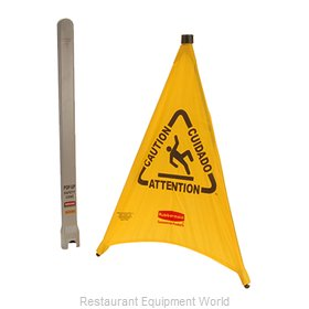 Franklin Machine Products 262-1148 Sign, Wet Floor