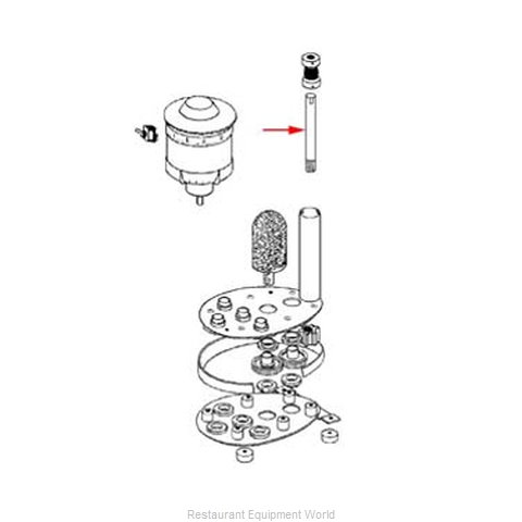 FMP 275-1000 Glass Washer Parts