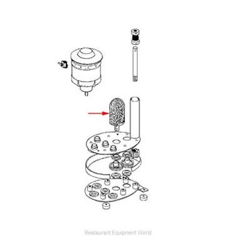 FMP 275-1011 Glass Washer Parts