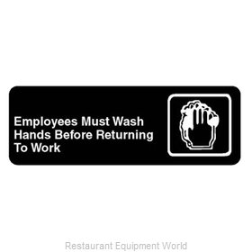 Franklin Machine Products 280-1133 Sign, Compliance