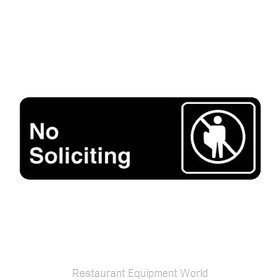 Franklin Machine Products 280-1135 Sign, Compliance