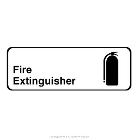 Franklin Machine Products 280-1143 Sign, Compliance