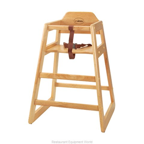 FMP 280-1311 High Chair Wood (Magnified)
